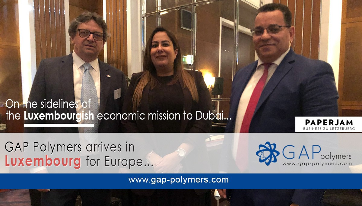 GAP Polymers arrives in Luxembourg for Europe