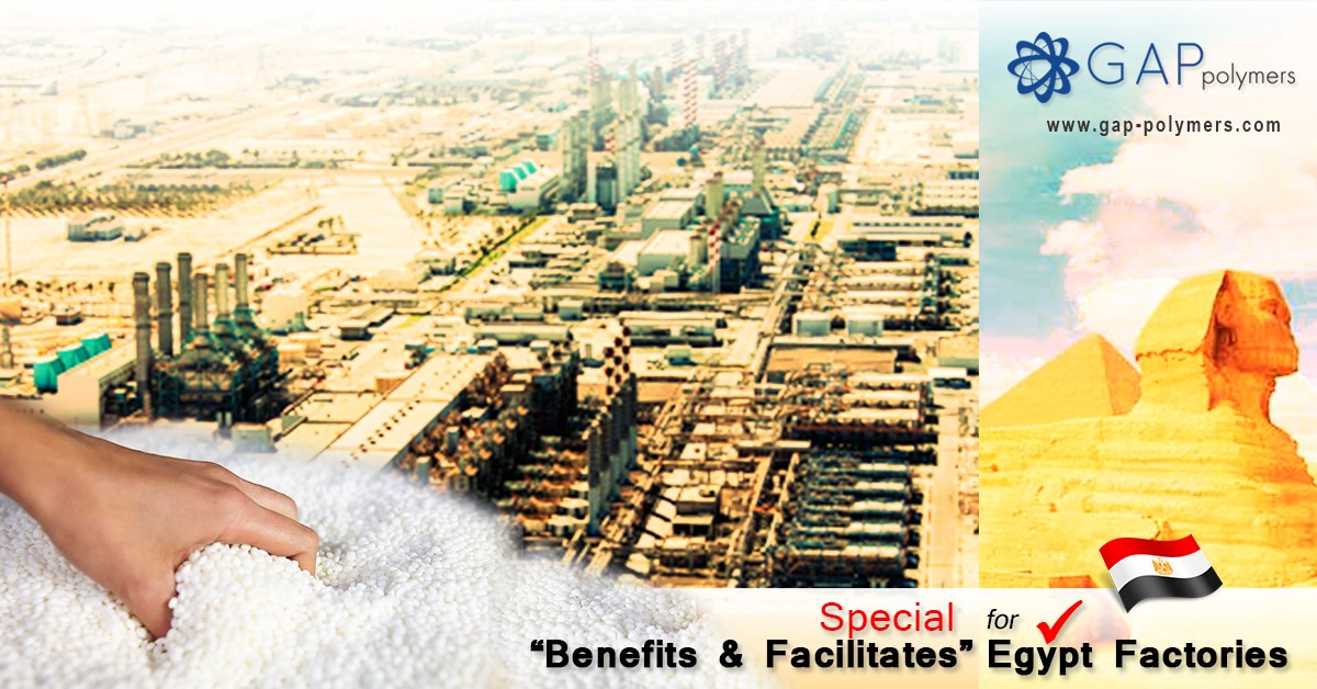 Special Benefits & Facilities for Egypt Factories